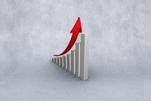 graphique représentant la croissance
