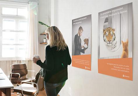 pósteres de sensibilización Phosforea