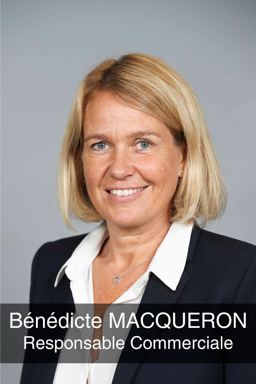 portrait photo de la responsable commerciale Bénédicte Macqueron