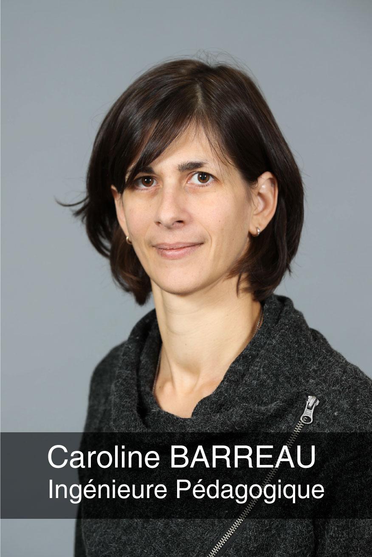 portrait photo de l'ingénieure pédagogique Caroline Barreau
