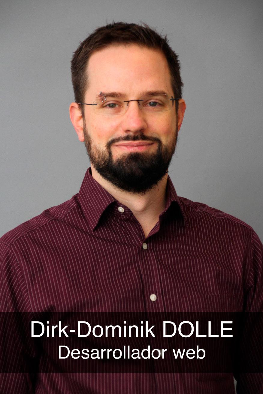 portrait photo du développeur full-stack Dirk-D. Dolle
