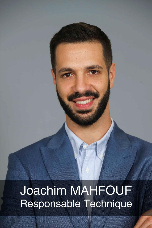 portrait photo du directeur technique Joachim Mahfouf
