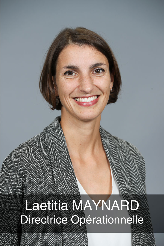 portrait photo de la directrice operationnelle Laetitia Maynard