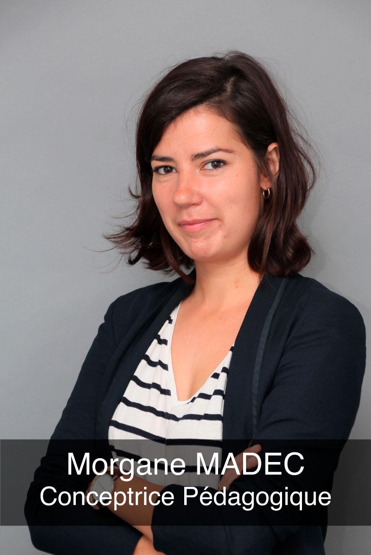 portrait photo de la conceptrice pédagogique Morgane Madec