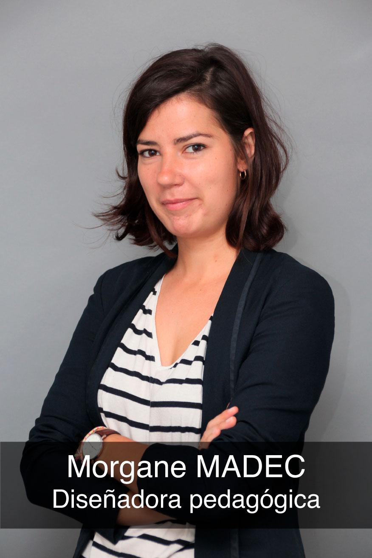foto de la diseñadora pedagógica Morgane Madec