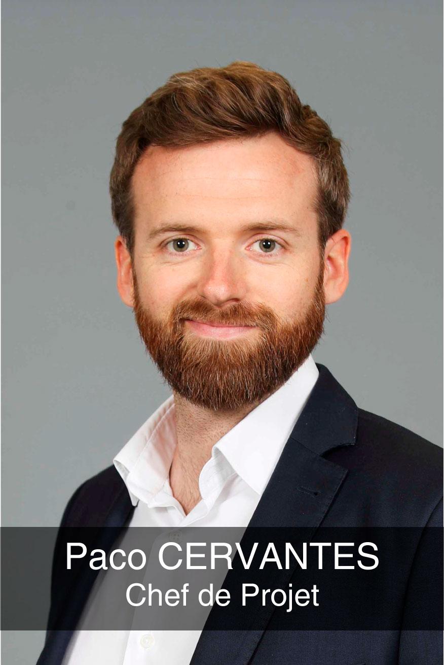 portrait photo du chef de projet Paco Cervantes